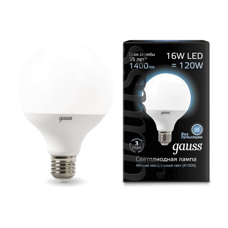 LED lampe globus ball diode G95 E27 16 W 3000 K 4000 K kalten neutral warm licht Gauss Lampada lampe glühbirne Mais ball globus - 3