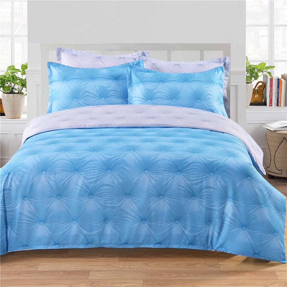 3Pcs/Set Fashion Duvet Cover + 2 Pillow Cover Bed Decoration Bedding Supplies