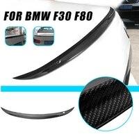 Autoleader 124cm Auto Car Carbon Fiber Rear Trunk Spoiler for BMW F30 328i 330i 335i Auto Replacement Parts