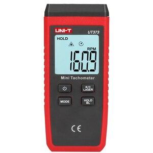 Image 3 - UNI T UT373 мини Тахометр; Цифровой Бесконтактный тахометр, измерение об/мин/измерение подсчета, индикация перегрузки