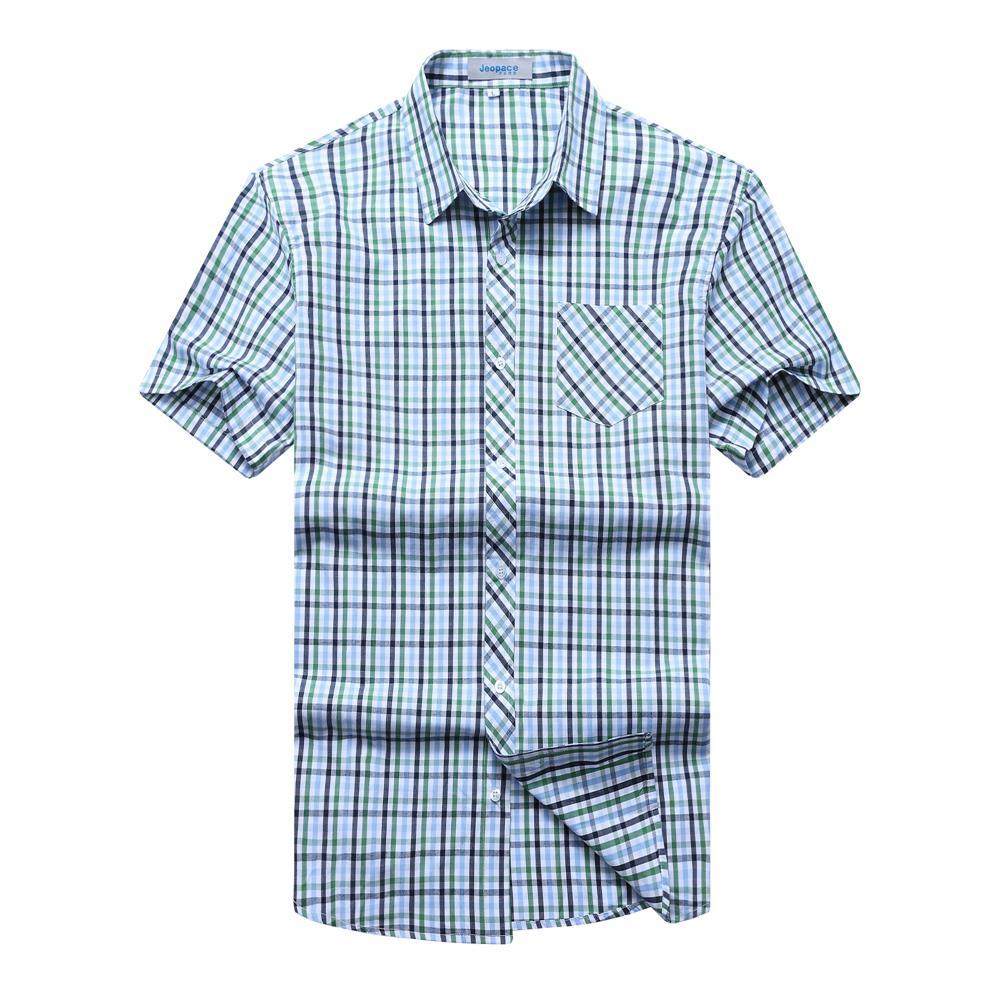 10XL 9XL 8XL 6XL 5XL 4XL Plaid Shirt Men Shirts 2018 New Summer Fashion Chemise Homme Me ...