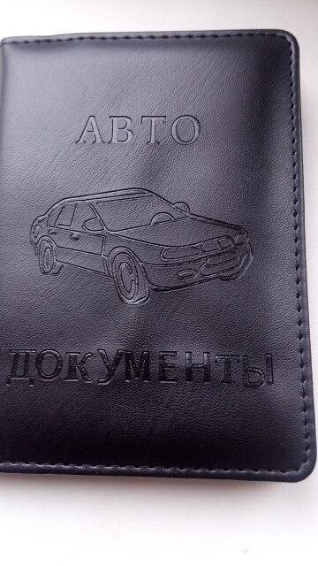 Molave ??Russische rijbewijs PU lederen hoes voor auto-rij-documenten Visitekaarthouder ID-kaarthouder dames DEC20 photo review