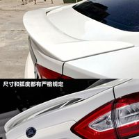 Car Styling For Ford Mondeo 2013 2014 2015 2016 2017 ABS Plastic Material Rear Wing Unpainted Primer Color Rear Spoiler