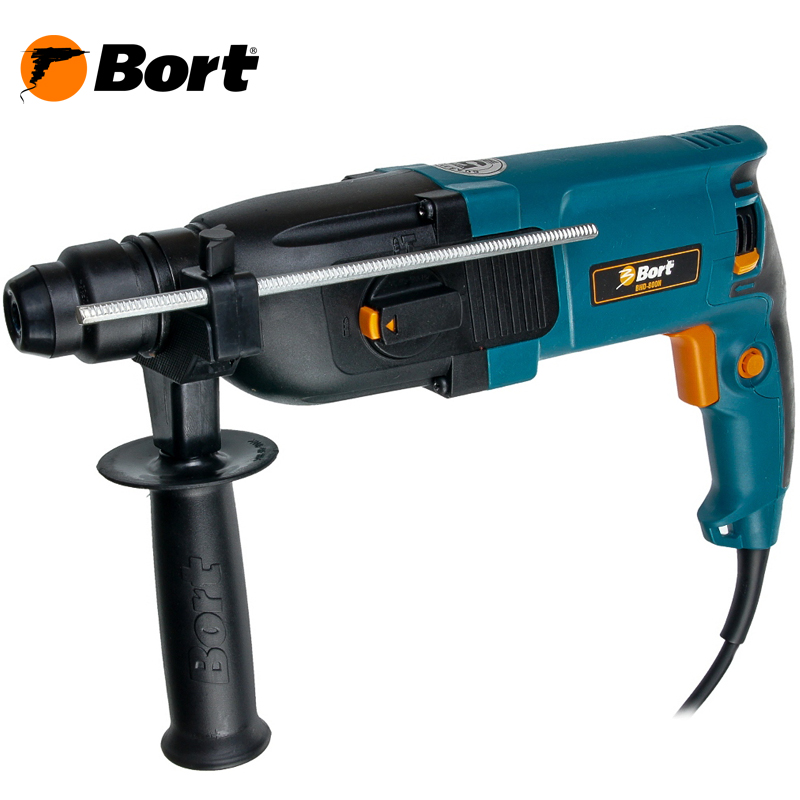 BORT Electric Drill Rotary Hammer Drill Impact Drill Multi function Adjustable Speed Woodworking Power Tool with BMC Accessories BHD-800N bdcat 180w engraver electric dremel rotary tool variable speed mini drill grinding tools with 140pcs power tools accessories