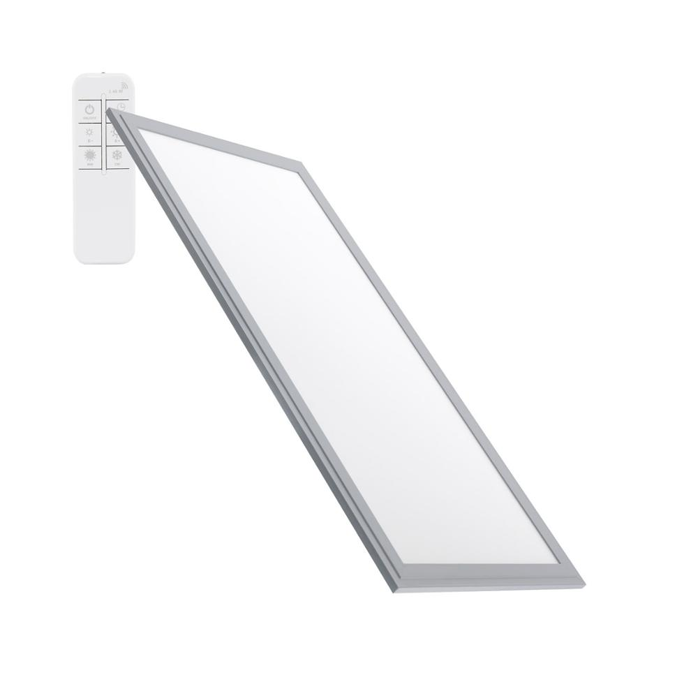 LED Panel Dimmable Tª Color Selectable <font><b>120x60</b></font> cm 60 W 5400lm flat setting Silver image