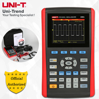 UNI T UTD1025CL Handheld Digital Storage Oscilloscope; 1Channels, 25MHz Bandwidth, 200MS/sSample Rate, USB Communication
