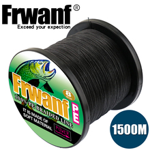 Frwanf 8 Strands 1500M Braided Fishing Line Sea Saltwater Japan Underwater Hunting Everything for Fishing 8 Threads of Braiding