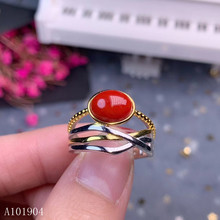 KJJEAXCMY boutique jewelry 925 sterling silver inlaid natural gemstone red coral female ring support detection n kjjeaxcmy boutique jewelry 925 sterling silver inlaid natural garnet gemstone female ring new support detection