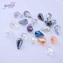 9X14mm crystal beads Teardrop for jewelry making bracelet  DIY Necklace Bracelat Jewelry Making
