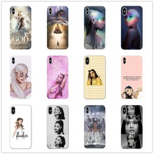 Ariana Grande AG Rainbow Sweetener Coque Soft TPU Phone Case Cover Shell For IPhone 5 11 11PRO MAX SE 6 6s 7 8 Plus X 10