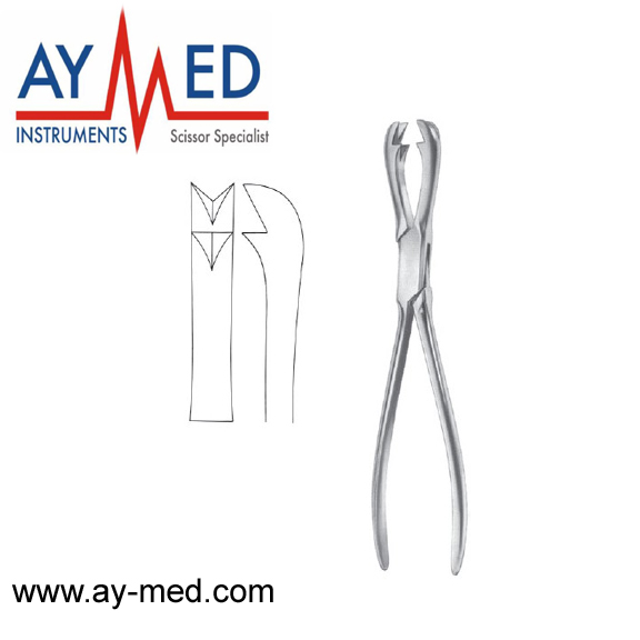 3 pieces Fergusson bone holding forceps - bone surgery instruments - surgical instruments scissors prediction of bone length from bone fragments