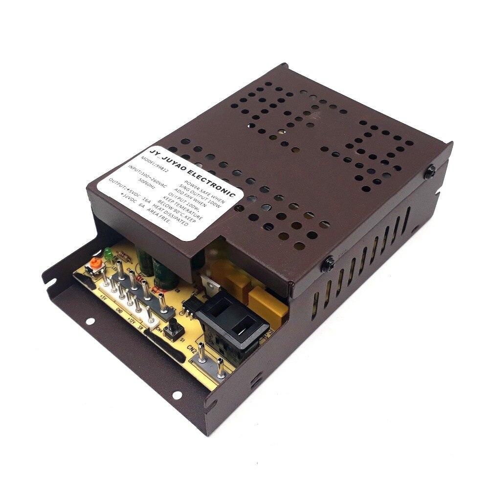 Ac100v 260v Input  2 Output Voltage 12v6a 5v16a Power