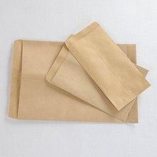 50 шт./лот, крафт-конверт для бумаги формата А4, Простой чистый пустой конверт, Простой декоративный Свадебный Пригласительный бумажный пакет-конверт