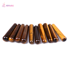HIMABM Tiger Eye Wand Reflexology Massage Crystal Energy Healing Wholesale