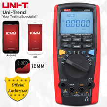 UNI T UT71A/UT71B/UT71C/UT71D/UT71E Medio Formato Intelligenti Multimetri Digitali; Multimetro Digitale, USB/Bluetooth di Comunicazione