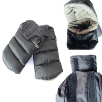 1 Pair Winter Stroller Gloves Mittens On A Stroller Trolleys Pram Accessories Gloves For Moms Carriages