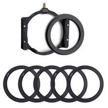 Übrigens Kamera Platz filter halter & 67/72/77/82/86mm adapter Ring für hoya Zomei Nisi Cokin Berno 100mm Kamera filter