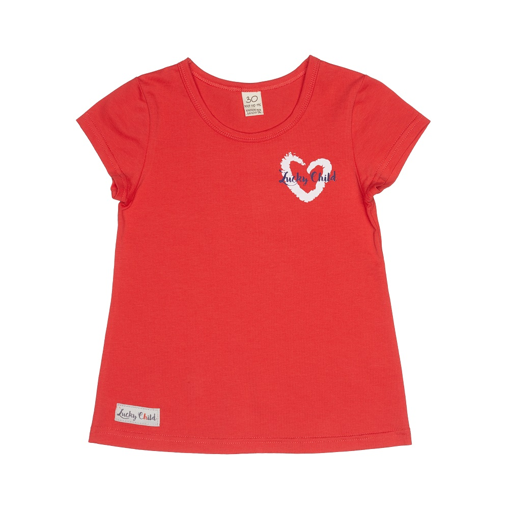 T-Shirts Lucky Child for girls 57-26 Shirt Children clothes t shirts lucky child for girls 54 12 56 26 shirt children clothes