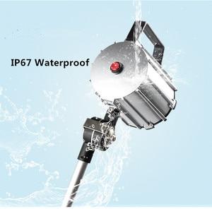 Image 5 - 7 w/12 w LED Lange Arm Opvouwbare IP67 Waterdichte CNC Machine Tool Werken Lamp Extended Draaien Arm Anti  olie Machine Licht Armatuur