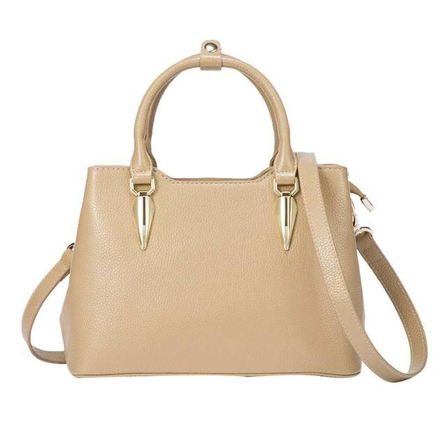 100% Cow Leather Women Handbags Shoulder Bag 2018 Fashion Vintage Crossbody Messenger Bag Office Lady Briefcase Bolsas Feminina