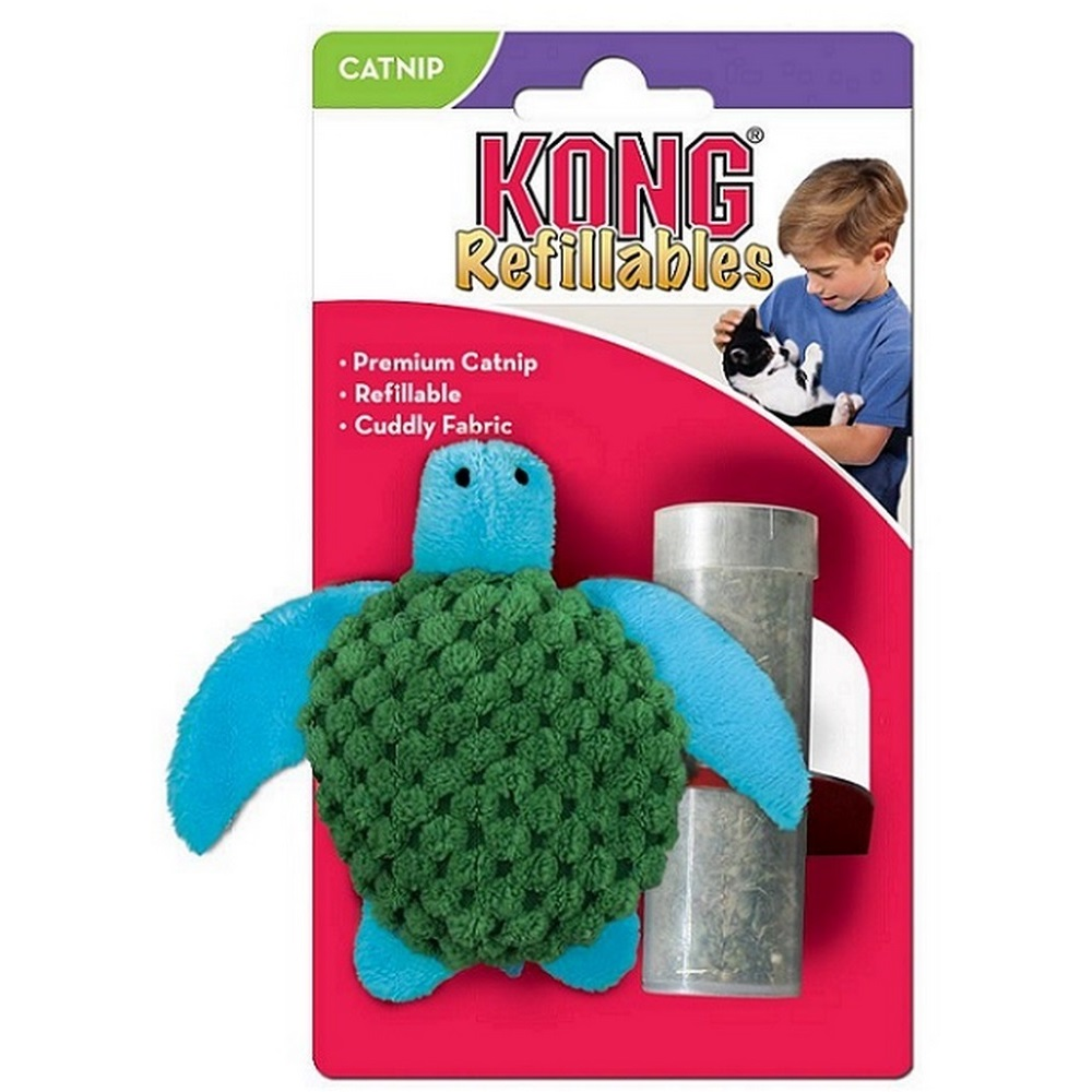Cat toys KONG toy for cats Turtle 9 cm with a catnip tub носки низкие toy machine turtle ankle page 1