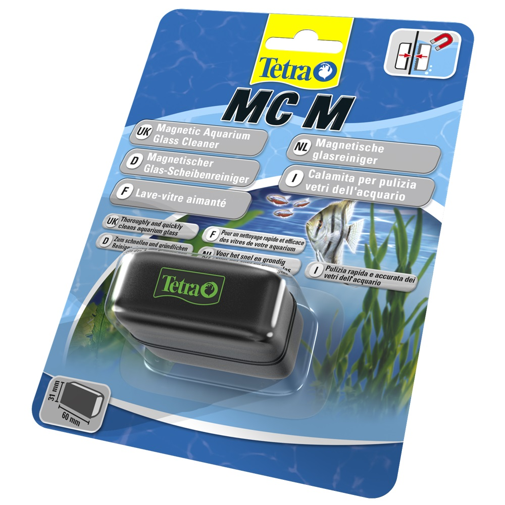 Magnetic Wiper Tetra MC Magnet Cleaner M. Aquariums horusdy flexible magnetic claw pick up tool plastic handle magnet long reach spring grip 600mm
