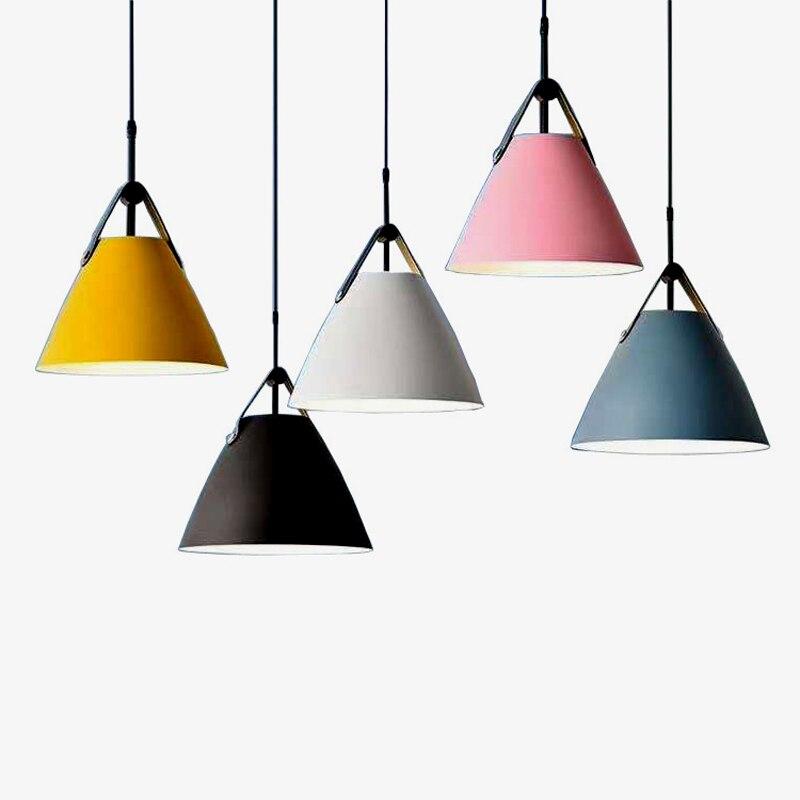 Single head restaurant chandelier lighting kitchen chandelier restaurant LED lights Nordic lights modern chandelier bedroom livi