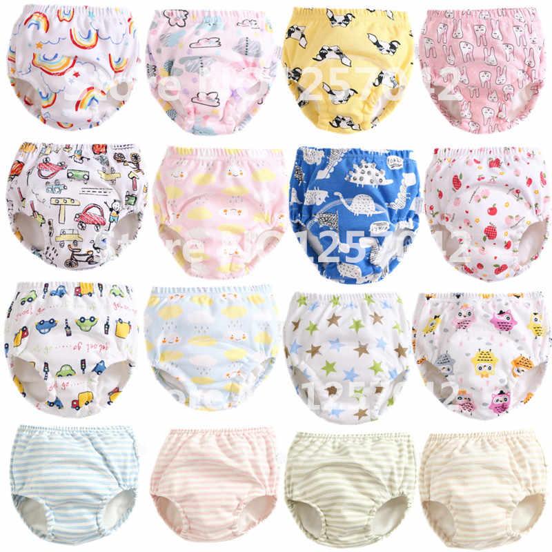 12d4b235e302 ... Новые Многоразовые Детские тренировочные штаны, детские тканевые  подгузники, моющиеся хлопковые марлевые детские трусики для ...
