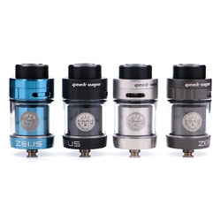 2pcs/lot Original Geekvape Zeus dual RTA  Zeus RTA Dual coil version 5.5 ml RTA zeus atomizer leak proof top airflow system