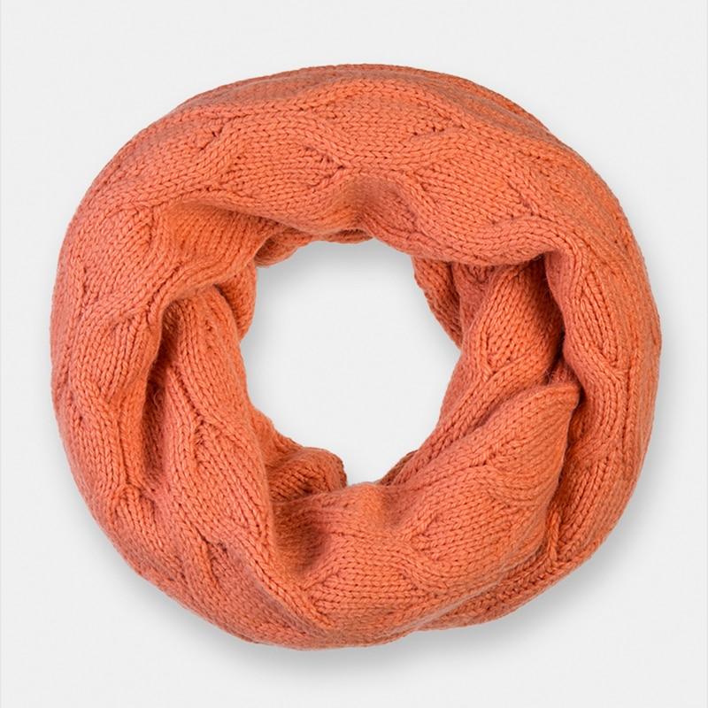 Scarf for women Canoe 3449923 AIRS stylish handpainted vivid leaves pattern shawl wrap chiffon scarf for women