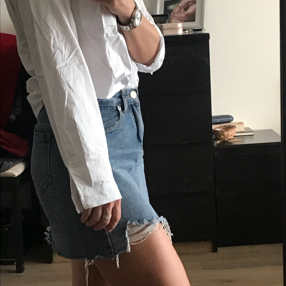 Single Pocket White Women'S Shirt Feminine Blouse Top Long Sleeve Casual Turn Down Collar Ol Style Female Loose Blouses photo review