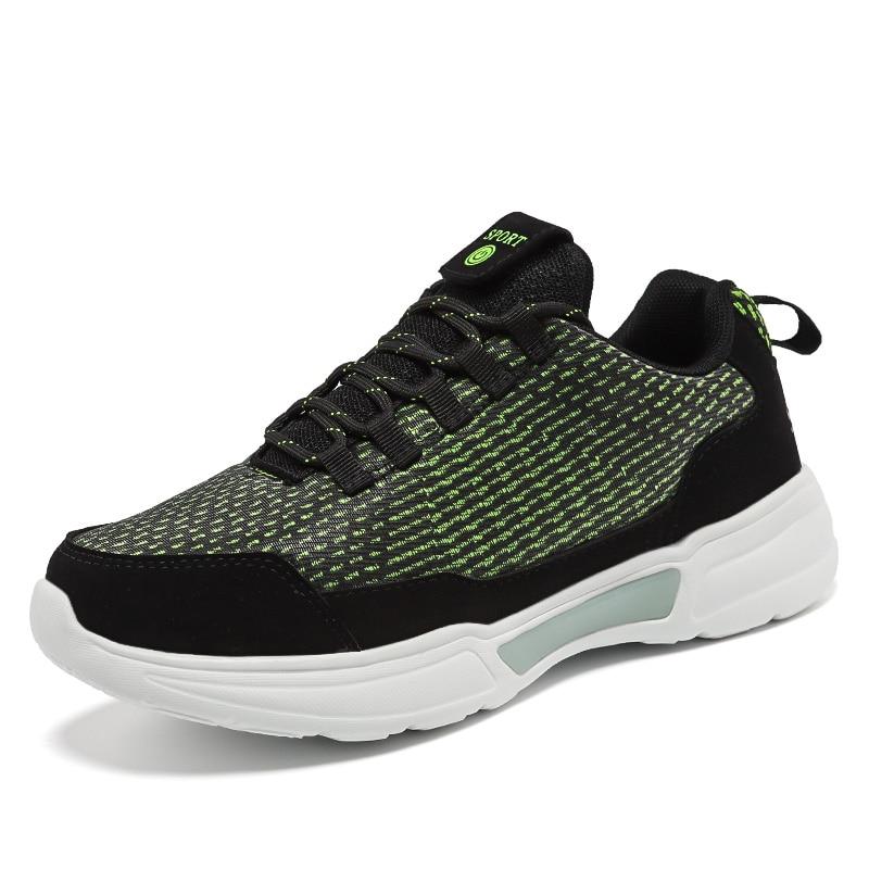 Tío Jerry nuevo LED de fibra óptica zapatos para los muchachos de las muchachas de las mujeres de los hombres de carga USB Luz de zapatos para adultos brillante correr zapatillas de deporte - 2