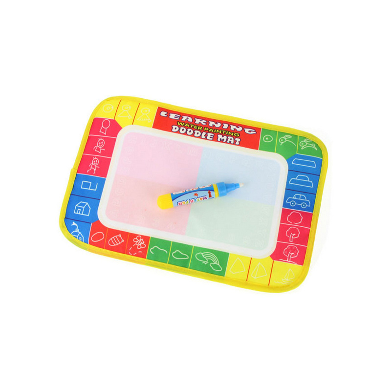 [FoPcc] Drawing Toys Water Drawing Mat 29 * 19 CM Board Painting and Writing Doodle With Magic Pen Non-toxic Drawing Board