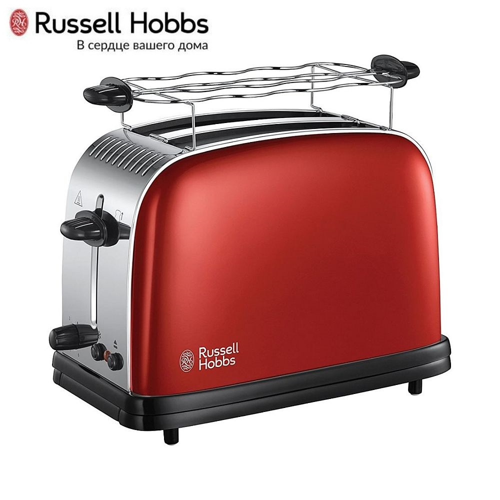 лучшая цена Toaster Russell Hobbs 23335-56 Toaster sandwich home kitchen appliances cooking fry bread to make toasts Bread Maker grill