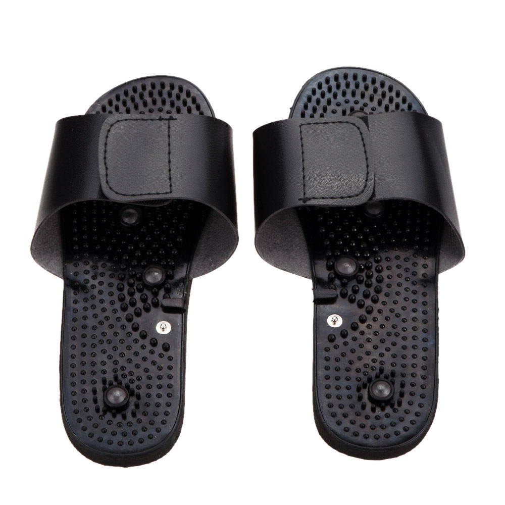 Foot Massage Conductive Massage Slipper Ease Foot Acid For TENS/EMS machines 10 pair 50 pair conductive massage knee pads 2pcs 2mm hole button lead wires for tens ems electronic therapy machines