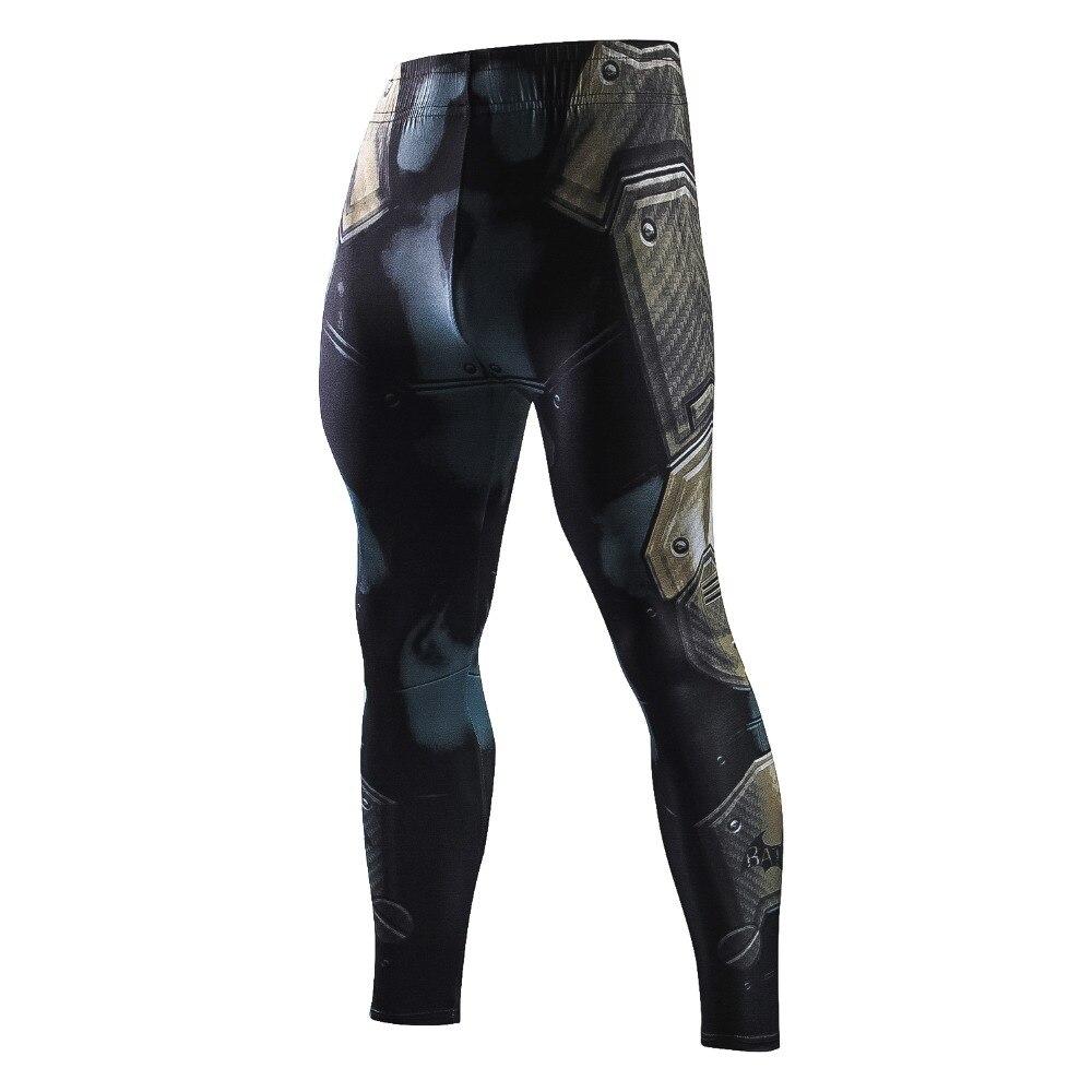 2018 New Marvel Batman Men Compression Pants Tights Casual Bodybuilding Exercise Mens Trousers Brand Skinny Leggings Sportswear