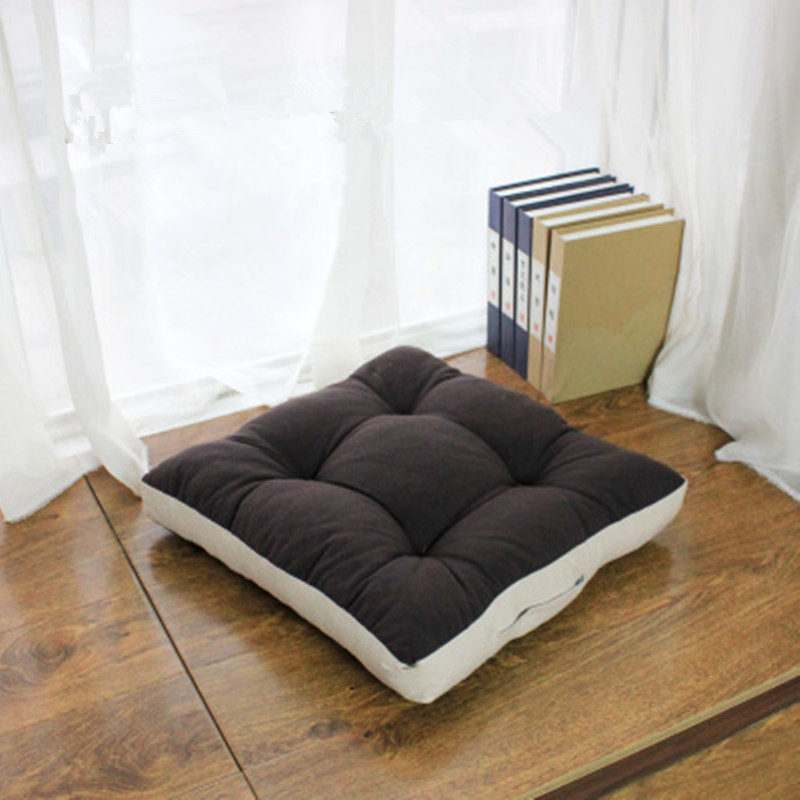 High Quality Linen Cotton Futon Seat Cushion Round Square Japanese Style Teahouse Floor Cushions Tatami Dormitory Yoga Pad In From Home