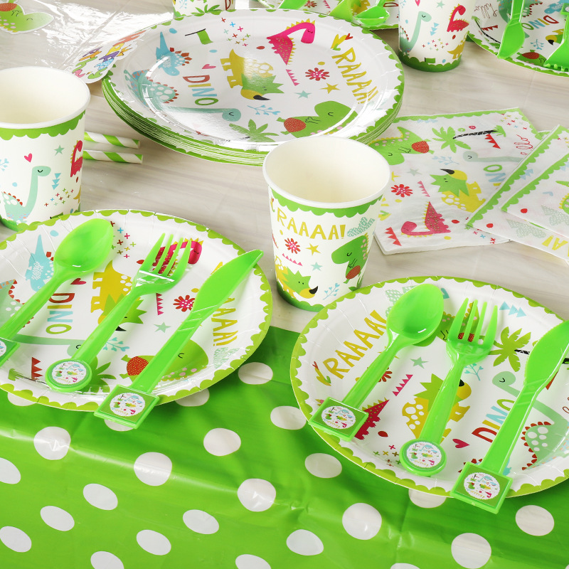 Baby Shower Party Set # 24 Cups Plates Napkins Tablecover Invites Banner Balloon
