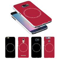 Music Score Circle Print Case Cover for iPhone 8 for Samsung Galaxy for Huawei for Xiaomi