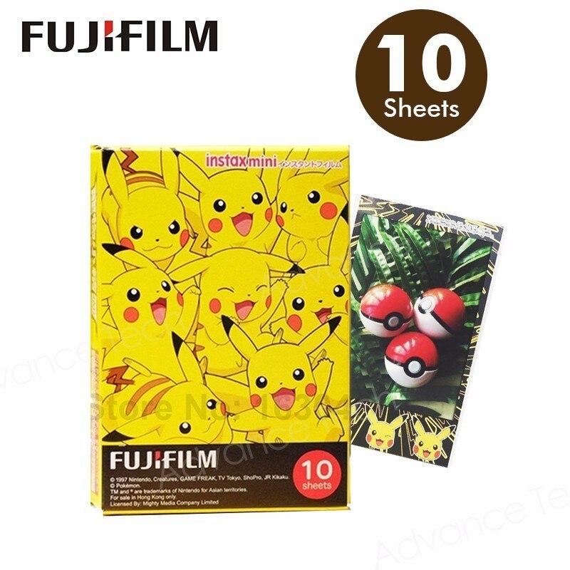 Galleria fotografica Genuine Fujifilm Instax 10 Sheets for Fuji Mini 9 8 Plus 25 50s 70 90 sp1 spo2 300 lomo Instant Film Camera Share SP-1 SP-2