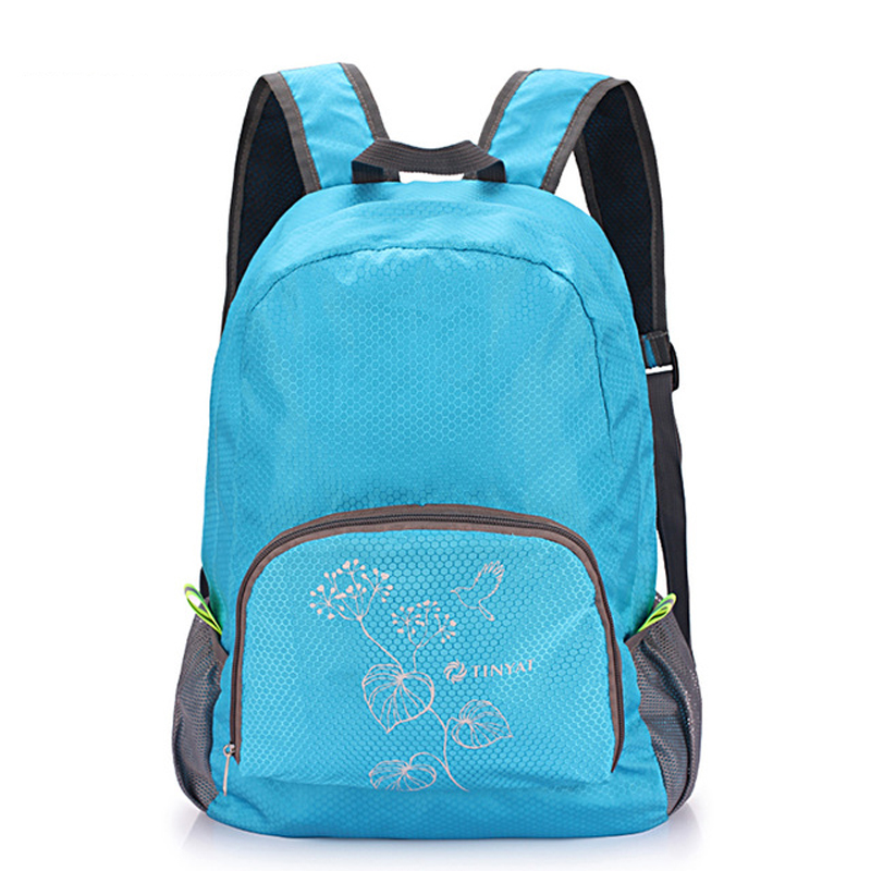 wholesale Canvas polyester pleated zipper Party girl lady backpack men <font><b>20</b></font> <font><b>inch</b></font> <font><b>laptop</b></font> <font><b>bag</b></font> computer interlayer image