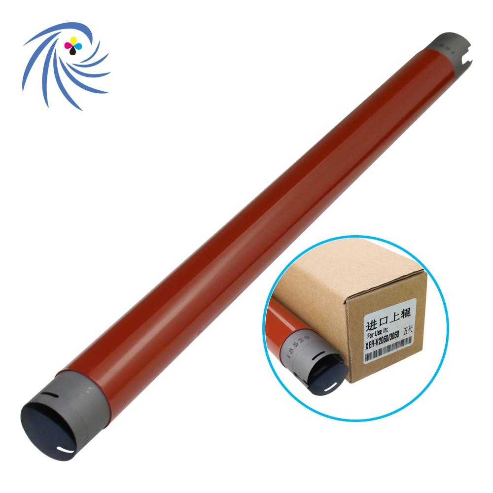 OEM Upper fuser roller for Xerox V-DC2060/3060/3065/5325/5330/5335 fuser heater roller with code OEM Upper fuser roller for Xerox V-DC2060/3060/3065/5325/5330/5335 fuser heater roller with code