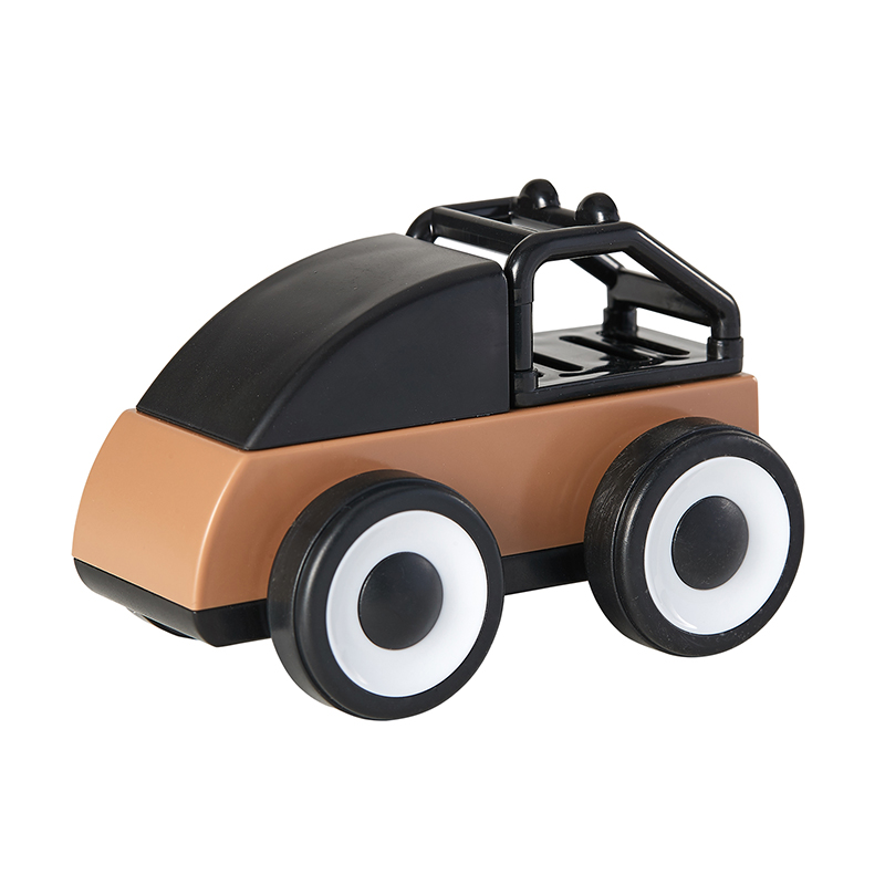Kid Wooden Car Toy Detachable Mini Vehicles For Baby Kids Cool Model Cars Toys Baby Educational Gifts TJW02
