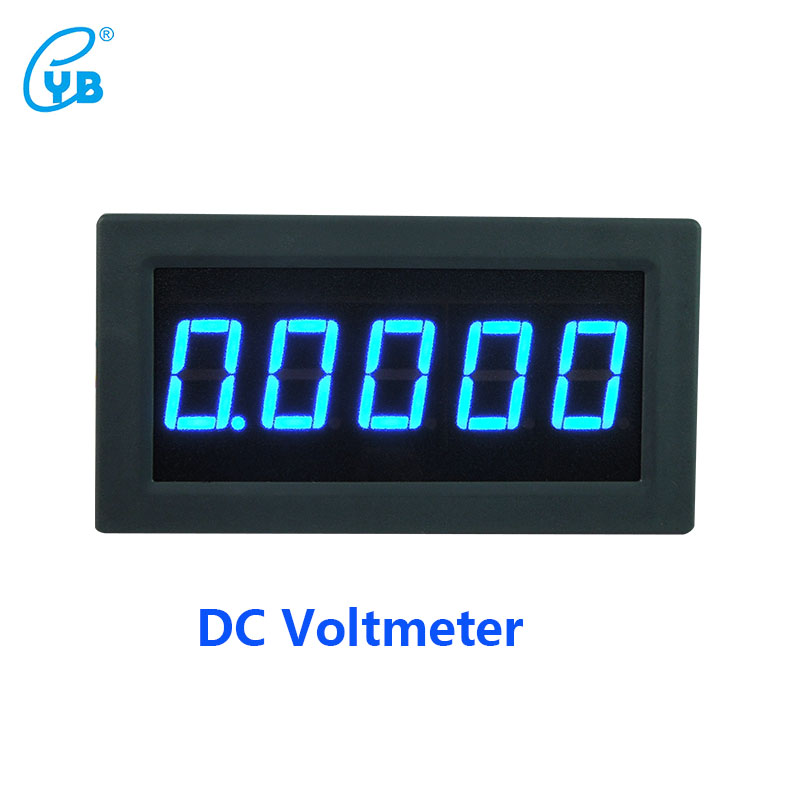 YB5145B DC Voltage Meter Four and A Half Voltmeter LED Digital Display Voltmeter DC Voltage Meter Tester Volt ICL 7107 Blue Word