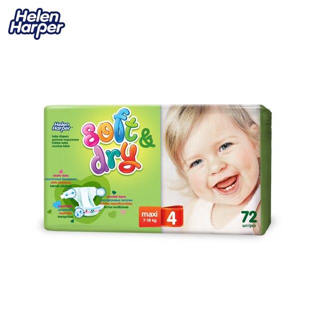 HELEN HARPER Детские подгузники Soft & Dry maxi 7-18кг. (72 шт.)