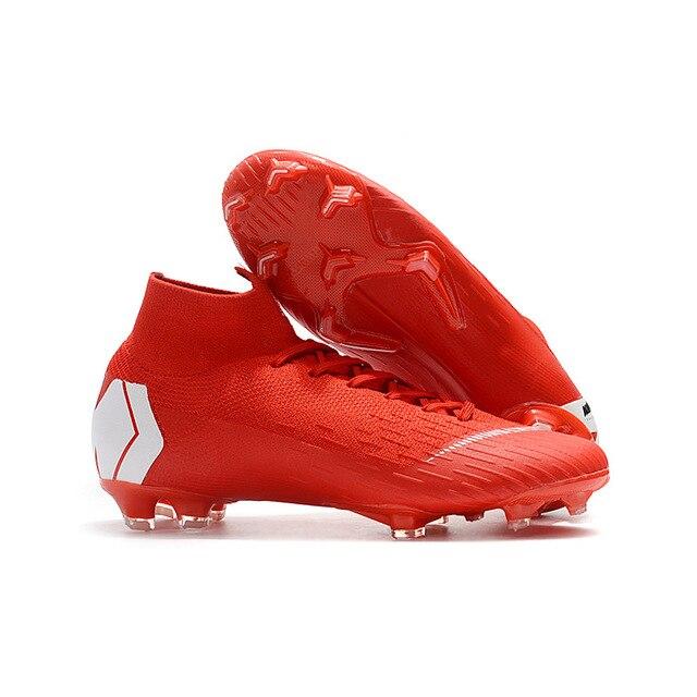 Sufei hombres entrenamiento atlético zapatos de fútbol Superfly botas de fútbol élite VI Original de tobillo al aire libre zapatillas de fútbol venta al por mayor