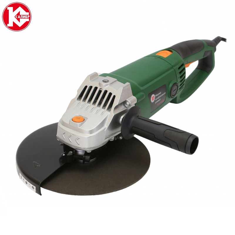 цена Angle grinder Kalibr MSHU-230/2400R (230 mm, 2400 W, 6000 RPM)