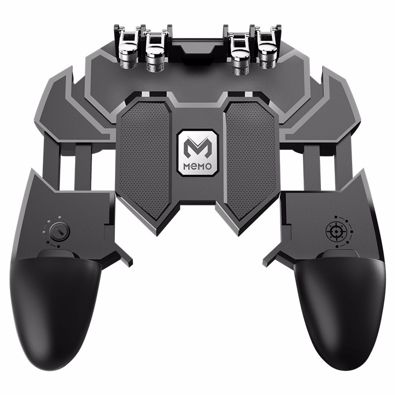 Gamepad Joystick Game-Controller Trigger-Shooting Mobile-Phone Six-Fingers Metal Free-Fire