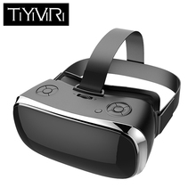 лучшая цена All In One Glasses Virtual Reality Resolotion 2560*1440 60Hz Bluetooth Wifi Immersive Glasses Adjustment 5.0 Inchs FHD Display