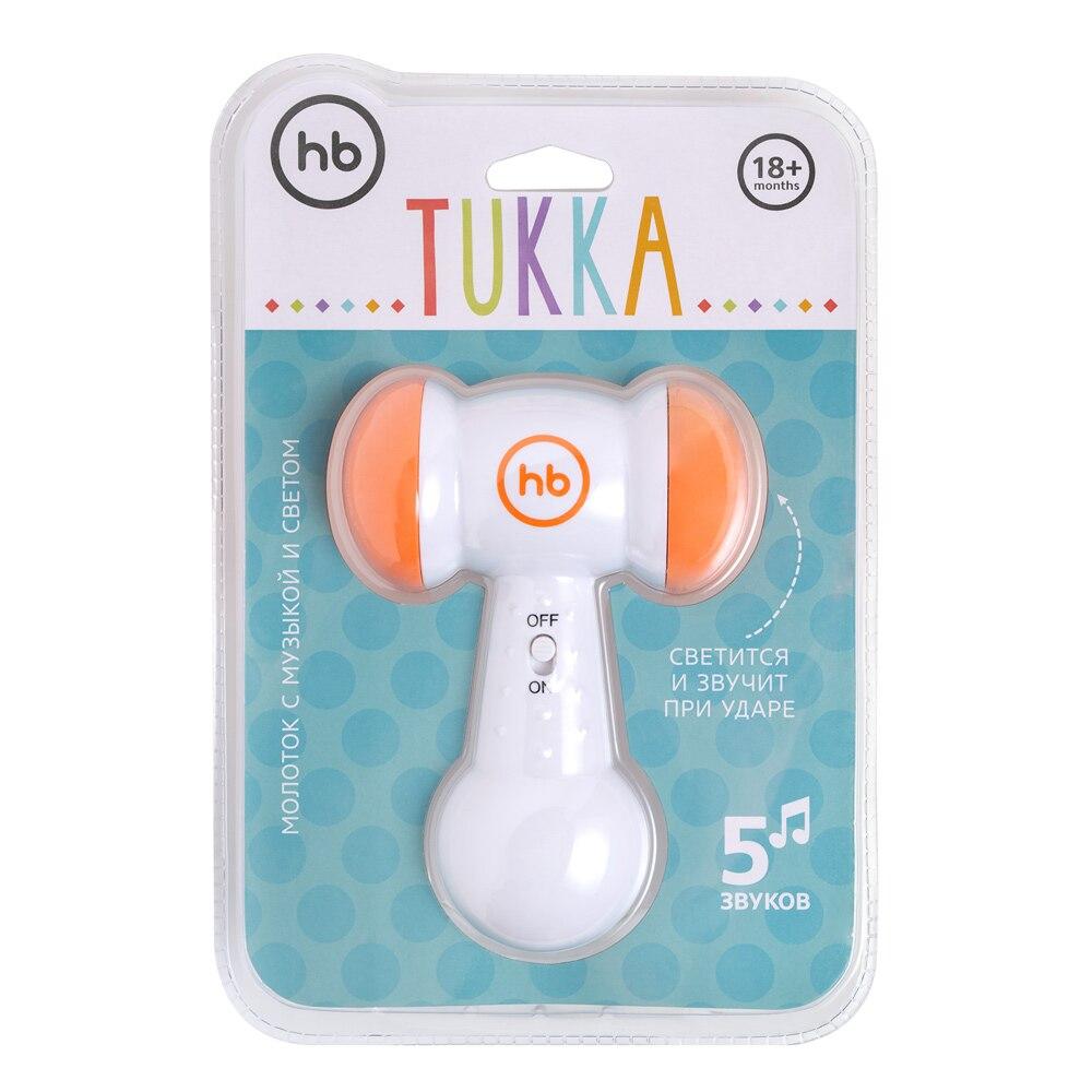 Toy-hammer TUKKA Happy Baby 331834 развивающая игрушка музыкальный молоток happy baby magic hammer звук